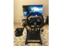 Logitech G920 with Gear Shifter + Stand