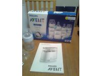 STERILISER - AVENT PHILIPS - VERY LITTLE USED - AS NEW - can deliver if required