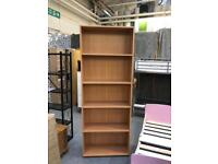 **BRAND NEW** Large Beech Bookcase
