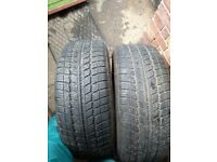 Pair 235 60 16 Tyres in West London Area