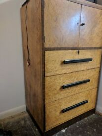 Retro solid wood cabinet for quick sale