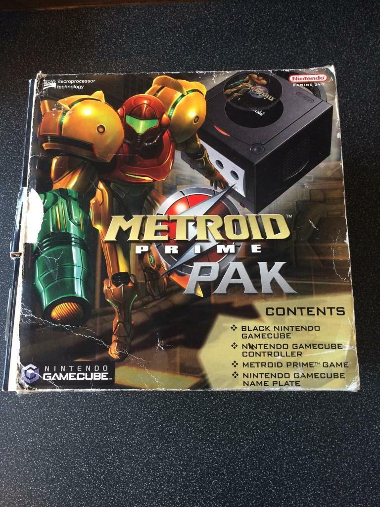 Limited edition metroid prime gamecube