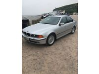 BMW 528 low miles 1 owner from new (not Audi ford merc Vauxhall vw pug )