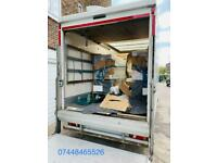 Reliable Removals Service House/Flat Room Moving With Man And Van Big/Small Truck Hire Relocation