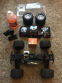 HPI Savage XL Nitro with New force r36 engine