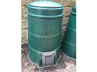 Compost bins and compost. FREE