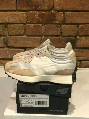NEW BALANCE SHOES 327 STYLE WS327SFA COLOR WHITE BIRCH