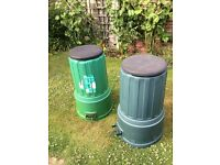 Compost Bins - 2 for £6