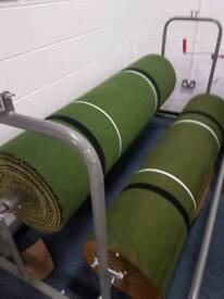 Two Bowling mats and roller