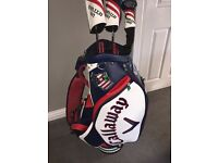 Limited edition callaway US Open Erin Hills tour bag