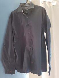 Tommy hillfiger navy shirt large