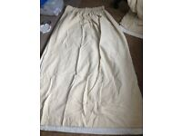 John lewis cream curtains w230x 170cm