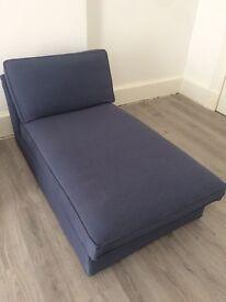 IKEA KIVIK blue chaise lounge