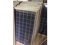 260W Solar Panels Used / Damaged Glass Work Perfectly