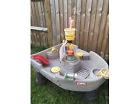 Little tikes pirate ship water tray / table