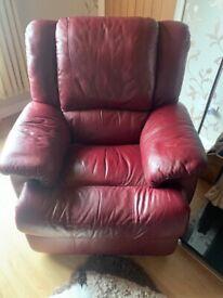 3-1-1 leather sofa