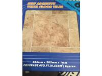 Various floor tiles available