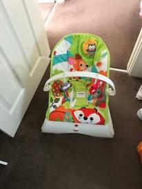 Fisher price baby chair.