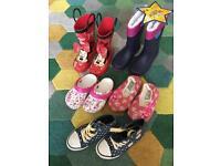 Shoes boots girls bundle