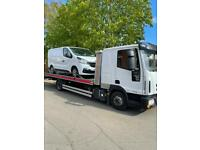 24/7 CAR VAN RECOVERY TOW TRUCK TOWING VEHICLE BREAKDOWN FORKLIFT TRANSPORT MOTORCYCLE DELIVERY