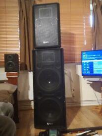 Intimidation Speakers For sale