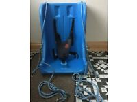 Teenage special need full support swing seat with deluxe harness