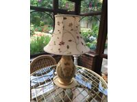 For Sale Two Table Lights