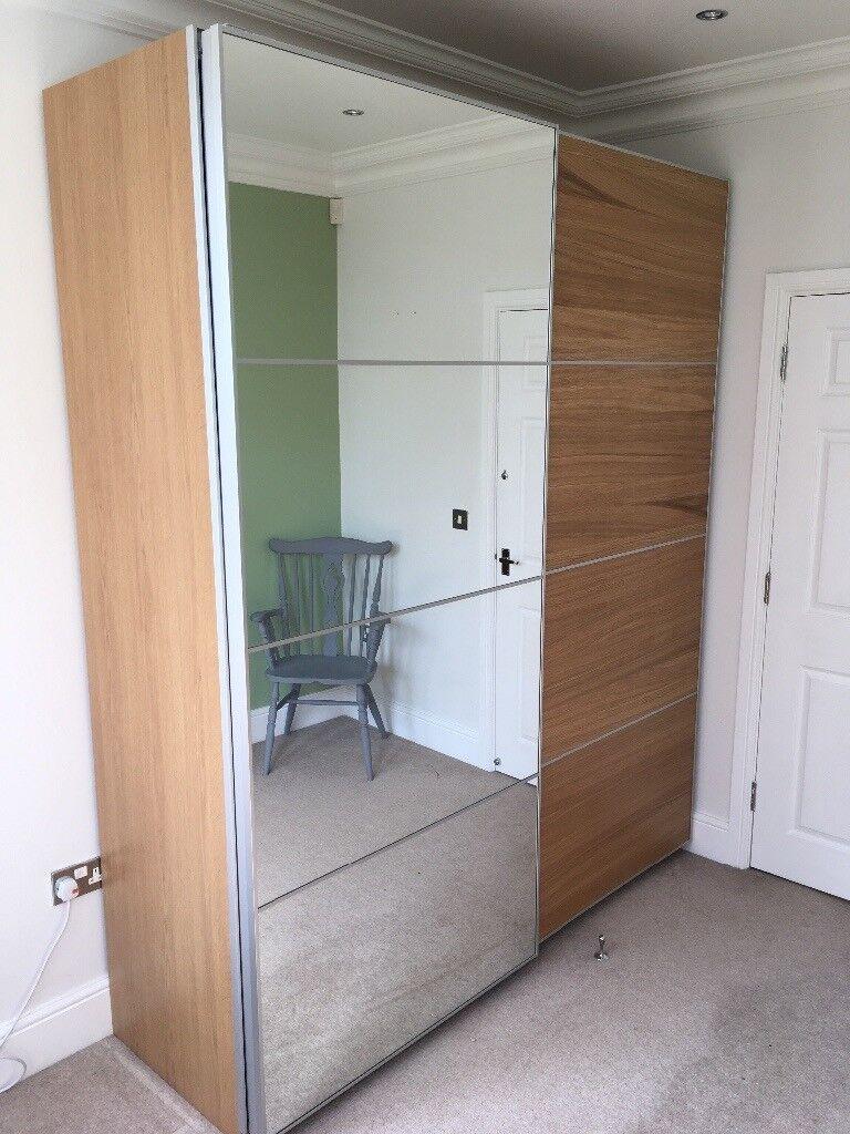 new product b10ed 5e5ac Ikea Pax sliding door wardrobe | in Sheffield, South Yorkshire | Gumtree