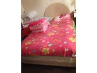 two second hand divan bed with good mattress for 35 pound