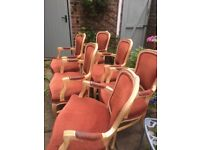 6 Chairs French Louis £20 per chair pls text only thank you