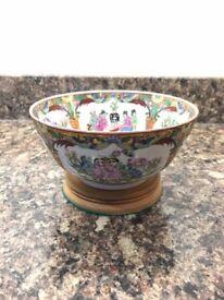 Decorative Porcelain Chinese Dish