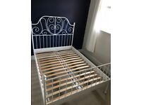 Double Ikea bed (perfect condition)