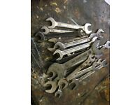 20 X HIGH QUALITY OPEN ENDED AF SPANNERS