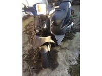 Typhoon 125cc suffered crash RUNNER (in Kent welling) ONO