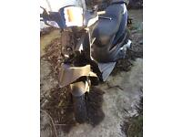 Moped Typhoon 125cc suffered crash RUNNER (in Kent welling)