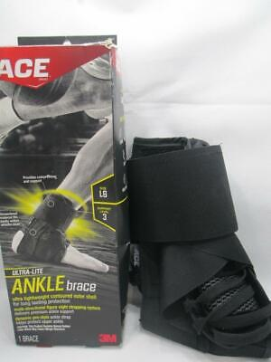 NEW 3M Ace Ultra Lite Left or Right Lace Up Ankle Brace XL F