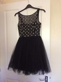 Beautiful prom dress and shoes bundle