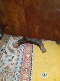 Antique dinning table flip top