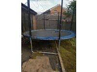 Trampoline for sale -in very good condition