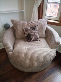 Panama fabric - swivel chair