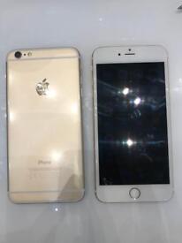 2 iPhones- iPhone 6 Plus & iPhone 6s plus