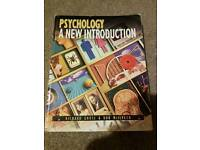 Psychology a new introduction