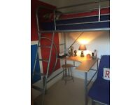 Bunk Bed with desk/chair/futon sofa bed