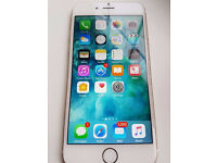 APPLE IPHONE 6 16GB GOLD UNLOCKED WITH RECEIPT AND WARRANTY