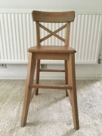 Ikea Ingolf high toddler chair