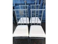 4 great condition modern chairs FREE DELIVERY PLYMOUTH AREA