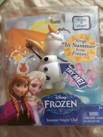 Olaf brand new toy