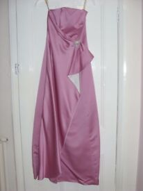 Pink Size 8-10 Strapless Bridesmaid Dress **OPEN TO OFFERS**