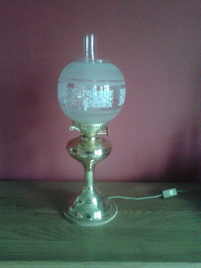 Captains Electric Lamp
