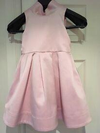 GIrls Next Signature Pink dress aged 5 years